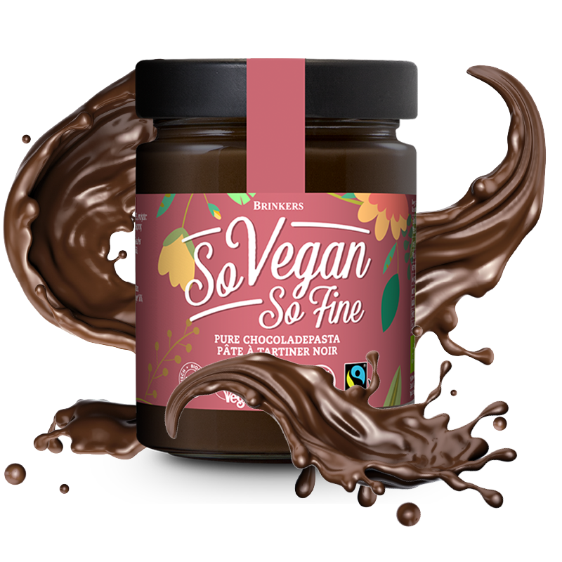So Vegan So Fine Pure Chocoladepasta